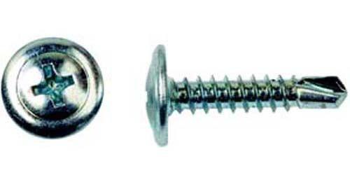 Саморезы с прессшайбой со сверлом, размер 4.2х25 мм