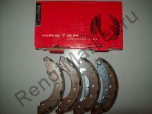Тормозные колодки задние (Kangoo) Remsa 404300 аналог 7701205523,7701207555