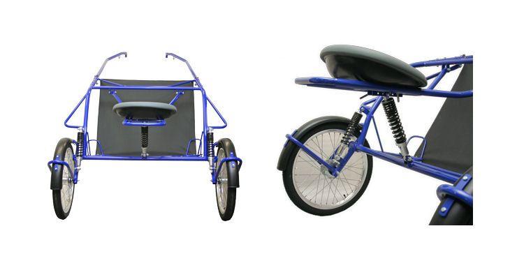 Chevi Ride тренировочная качалка с независимой подвеской
