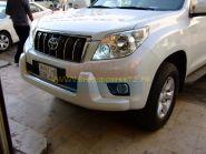 Защита переднего бампера Тип - 1 для Toyota Land Cruiser Prado 150 2010