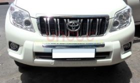 Защита переднего бампера Тип - 2 для Toyota Land Cruiser Prado 150 2010