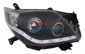 Передняя альтернативная оптика  (Тип 1) для Toyota Land Cruiser Prado 2010