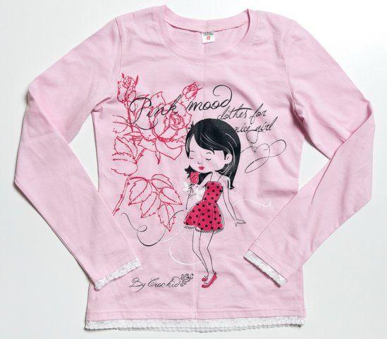 Майка Розовая мода