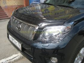 Дефлектор капота (мухобойка) для Toyota Land Cruiser Prado 150 2010