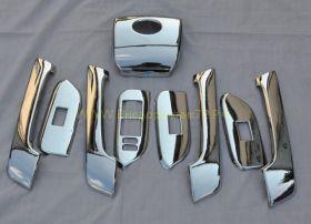 Накладки в салон Хром (Тип 3) для Toyota Land Cruiser Prado 150