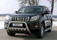Защита переднего бампера 76 мм (491100) для Toyota Land Cruiser Prado 150 2010
