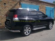 Рейлинги (Серебристые) для Toyota Land Cruiser Prado 150