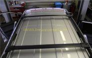 Багажная система на штатные рейлинги (Тип 2) для Toyota Land Cruiser Prado 150