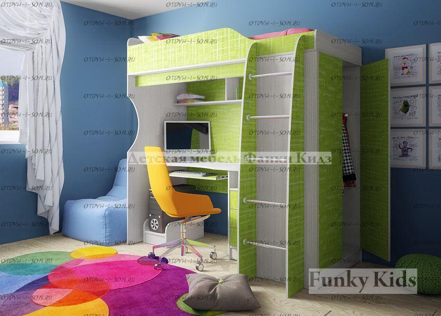 Кровать-чердак Фанки Кидз 11 СВ