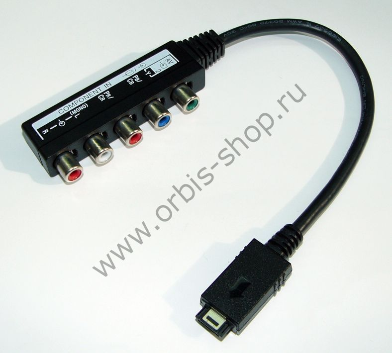 Переходник AV компонентного сигнала для ТВ Sony