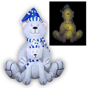 """Надувная фигура """"Белые медведи"""""""