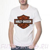 Футболка логотип Harley Davidson