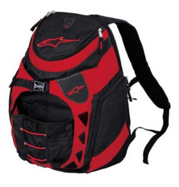 Мото рюкзак Alpinestars red