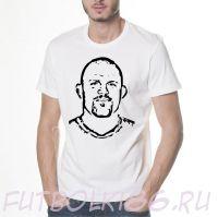 Футболка с принтом кумира арт.010
