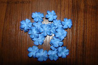 """Цветочки """"Синее цветение"""" (маленькие)"""