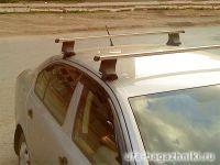 Багажник на крышу Skoda Octavia, Атлант, прямоугольные дуги