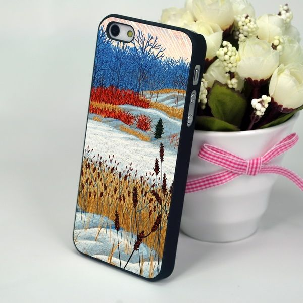 "Панель для iPhone 4, 4S ""Autumn Snow"""