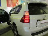 Задняя альтернативная оптика диодная Lexus (Тип 6) для Toyota Land Cruiser Prado 150