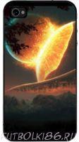 Чехол для смартфона с рисунком Космос арт.02