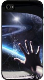 Чехол для смартфона с рисунком Космос арт.06