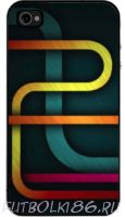 Чехол для смартфона с рисунком Абстракт арт.04