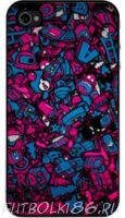Чехол для смартфона с рисунком Абстракт арт.07