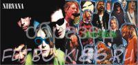 Кружка с изображением Рок-музыкантов. арт.423