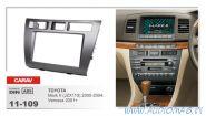 Carav 11-109 (2-DIN TOYOTA Mark II (JZX110) 2000-2004; Verossa 2001+)