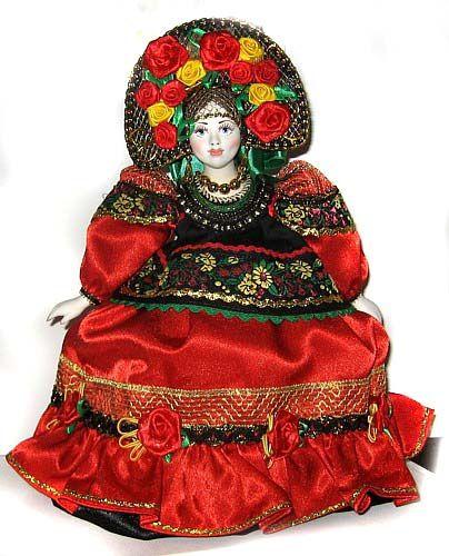 Параскева кукла грелка на чайник