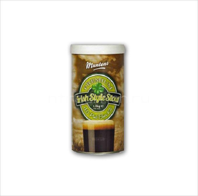 Пивная смесь Muntons Irish Style Stout 1,5 кг