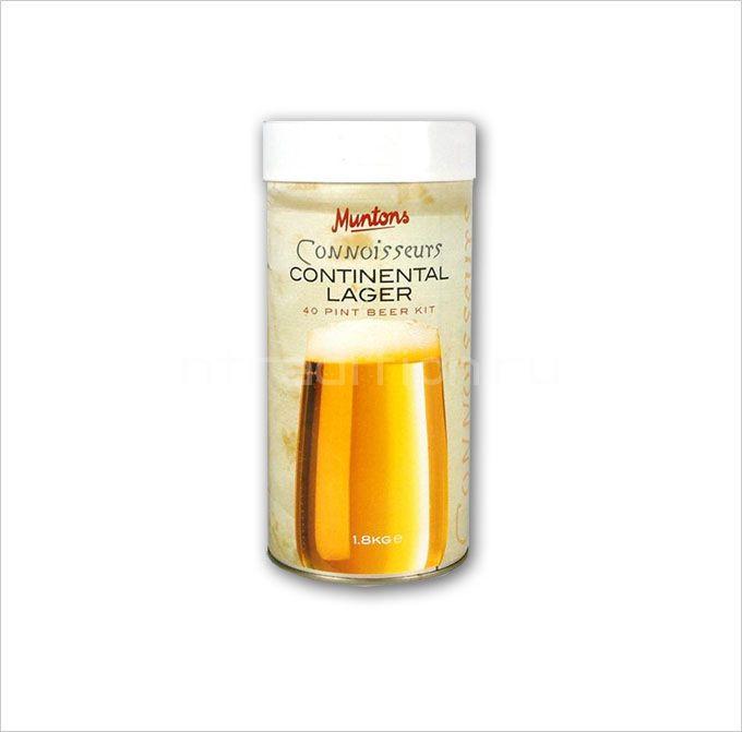 Пивная смесь Muntons Continental Lager 1,8 кг