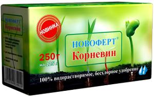 """Удобрение Новоферт """"Корневин"""" 250г"""