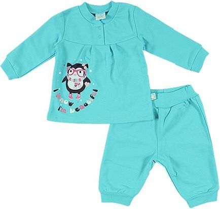 Джемпер и брюки для девочки Сова