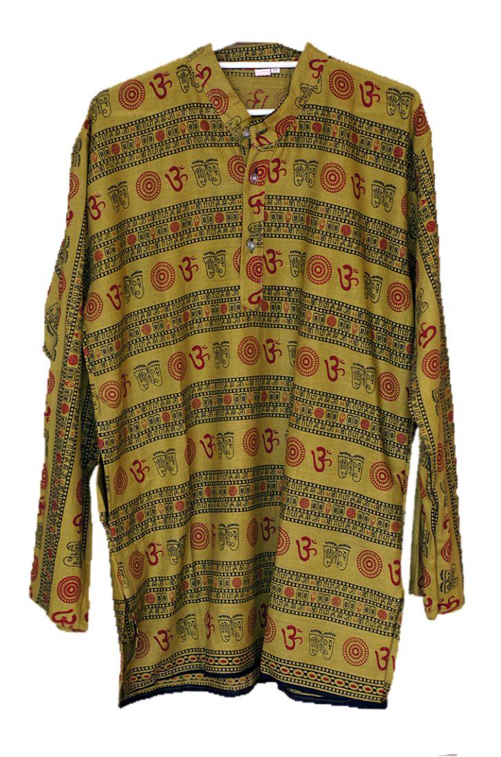 Мужские индийские рубашки с омчиками (отправка из Индии)