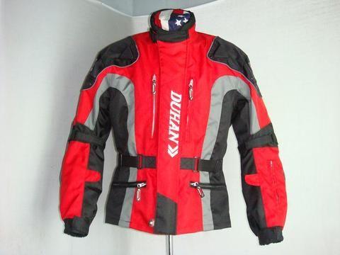 Мотокуртка туристическая DUHAN 023 красный/черный