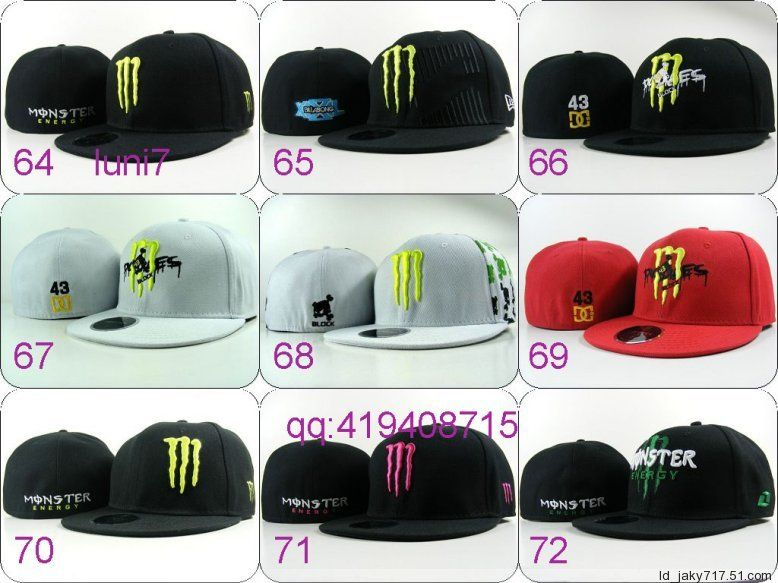 Кепки Monster Energy Hats
