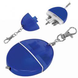 Брелок-рулетка с набором отверток