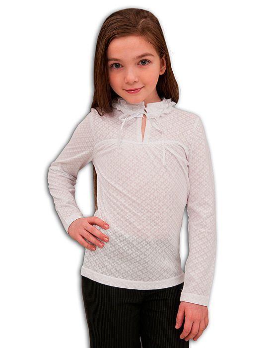 ff732e3290b Белая нарядная блузка для девочки 7лет