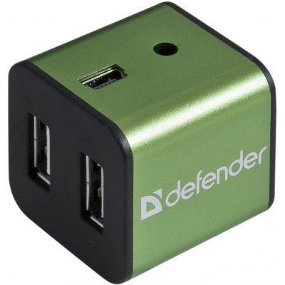Универсальный USB разветвитель Quadro Iron USB2.0, 4порта,корпус—алюминий