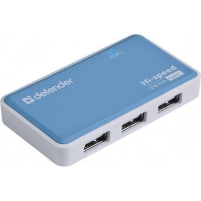Универсальный USB разветвитель Quadro Power USB2.0, 4порта, блок питания2A