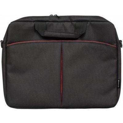 """Сумка для ноутбука Iota 15""""-16"""" черный, органайзер, карман"""