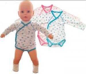 детские боди для новорожденного