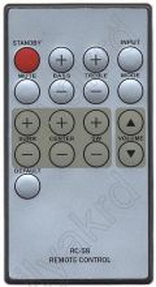 BBK MA-900S, MA-950S, MA-960S, MA-965S, MA-970S, Innovation Sub 5.1, RC-58