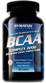 Dymatize BCAA complex 2200 (200 таблеток)