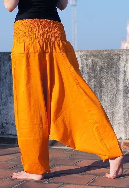 Оранжевые штаны афгани
