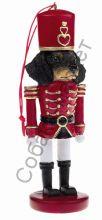 Такса гладкошерстная новогоднее украшение «Щелкунчик»