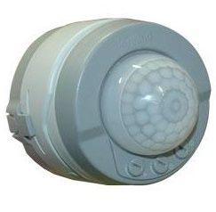 Датчик движения Plexo 360° серый (арт.69740)