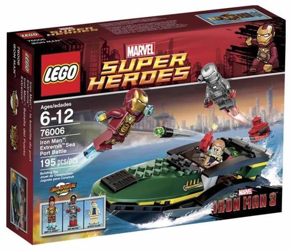 76006 Железный Человек: Сражение В Морском Порту конструктор ЛЕГО Супергерои