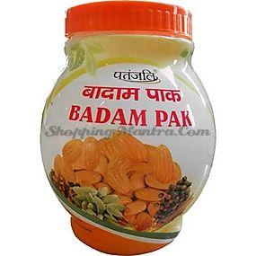 Укрепляющий миндальный тоник Патанджали Аюрведа / Divya Patanjali Organic Badam Pak