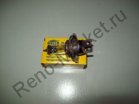 Лампа фары H4 12V 60/55W Hella 8GJ002525131 аналог 7703097171